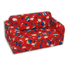 Sofa Bed For Kids Comfy Kids Flip Sofa Walmart Canada