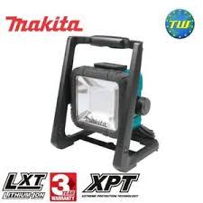 110v led work light makita dml805 18v lxt li ion cordless 110v corded led work light