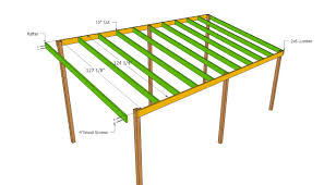 lean to carport roof plans rv pinterest roof plan pallet