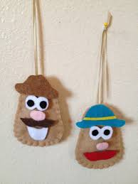 mr potato ornament potato heads