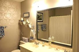 Framed Mirrors For Bathroom Mirror Frame Kits For Bathroom Mirrors Bathroom Mirror Ideas