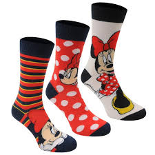 disney disney 3 pack crew socks socks