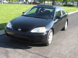 buy used 2001 honda civic ex coupe 2 door 1 7l in cleveland