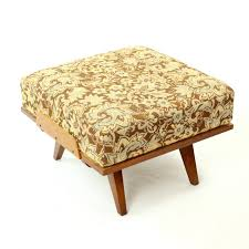 Beech Ottoman Armchair With Ottoman In Beech From Tatra 1960s Design Market