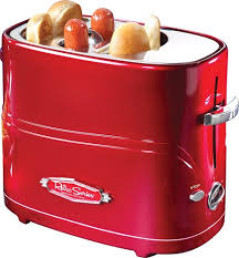 Best Buy Toasters Nostalgia Electrics Retro Series Pop Up Dog Toaster Red Hdt