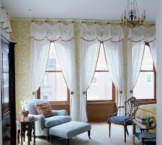 Curtains For Large Windows Inspiration Sheer White Curtains Window Treatments For Large Windows The