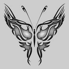 best free tribal butterfly designs