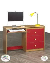 Home Decorators Writing Desk Life Line Computer Desks White Black Cherry Maple Red Green Pink