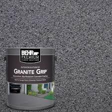 sure step 1 gal acrylic gray pearl anti slip concrete coating su