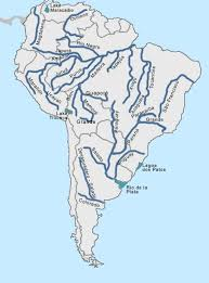 america map with rivers south america rivers 6th south america biomes