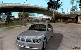 2002 bmw 760i for gta san andreas