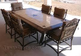 star furniture dining table custom made texas patio dining tables patios texas and star