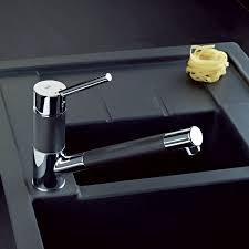 robinetterie de cuisine avec douchette teka mitigeur d évier avec douchette auk 978 s tegranit