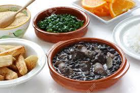 brasilianische küche feijoada schwarzen bohnen und fleisch eintopf brasilianische
