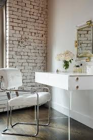 lucite makeup vanity modern closet