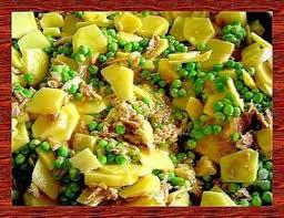 cuisiner des petits pois recette poêlée de pommes de terre petits pois et thon 750g