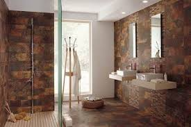 bathroom and shower ideas modern bathroom with black tiles and glass walk in shower ideas