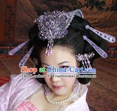 hair decorations ancient imperial princess black wigs hairstyles and hair