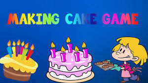 cooking games for kids make a cake friv youtube