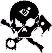 camshaft piston skull decal nostalgia decals