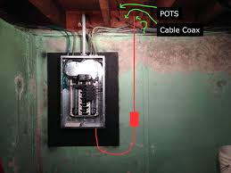 home electrical wiring fmc nm and a concrete wall electrical