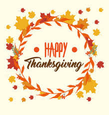happy thanksgiving day card royalty free vector image