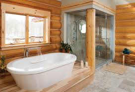 lovely country bathroom shower ideas