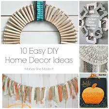 home decor creative easy craft ideas for home decor home