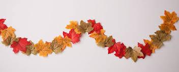 fall garland fall leaf garland nearly crafty