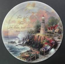 2001 kinkade faith collector s plates issues 1 thru 8