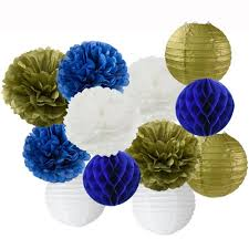 Blue And Gold Baby Shower Decorations by Online Get Cheap Prince Blue And Gold Baby Shower Decorations