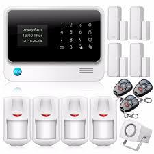 new 2 4g wifi gsm gprs home security alarm system door sensors ios