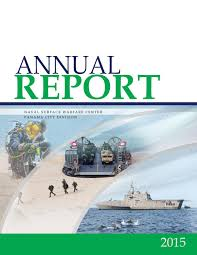 nswc panama city division 2015 annual report by nswc panama city
