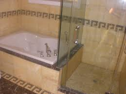 Corner Tub Bathroom Ideas by Japanese Soaking Tub Small Bathroom Marble Mosaic Tile Flooring