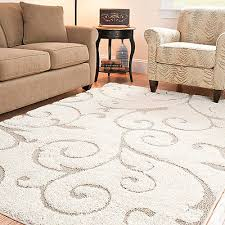Plush Area Rugs 8x10 Brilliant 8 X 10 Shag Rug Roselawnlutheran Within Plush Area Rugs