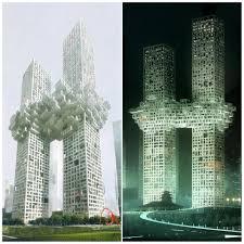 lexus south korea south korea twin towers resemble 9 11