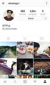 cara membuat akun instagram resmi seperti artis 7 artis korea yang tidak memiliki following instagram sepi banget