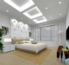 led ceiling strip lights bedroom modern white round waterbed with flush mount ceiling