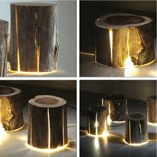 How To Make A Tree Stump End Table by Best 25 Tree Trunks Ideas On Pinterest Log Planter Tree Trunk
