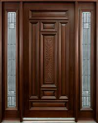Elegant Door Design For Home Natural Wood Front Pinterest Entrance