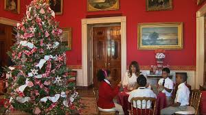 donald trump white house decor first lady reveals white house u0027s xmas spirit youtube