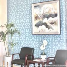 large trellis wall stencils for diy painting royal design