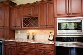 kitchen backsplash cherry cabinets cool kitchen backsplash cherry cabinets ideas with granite counter