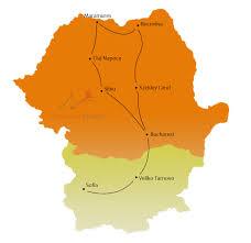 Romania Map Shared Tours Covinnus Travel Tours Of Romania And Eastern Europe