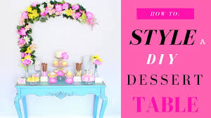 dessert table backdrop diy dessert table how to style it diy floral backdrop cake
