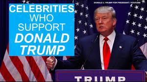 Trump S Favorite President Celebrities Vote 2016 Stars Who Support Donald Trump Aol