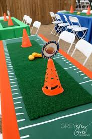 football party decorations best 25 football party table decorations ideas on