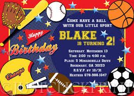sports themed birthday invitations marialonghi com