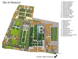 moroccan riad floor plan suites and rooms dar al hossoun