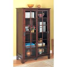 Ikea Bookcase With Glass Doors Bookshelf With Glass Doors Shelves Glass Doors Billy Bookcase